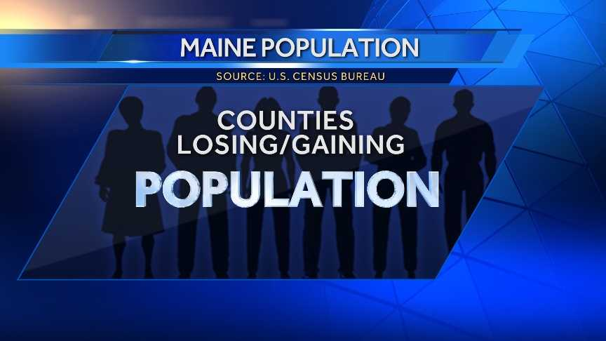 The U.S. Census Bureau has released new data on Maine's population change from 2012 to 2013. Click through to see which Maine counties gained and lost population.