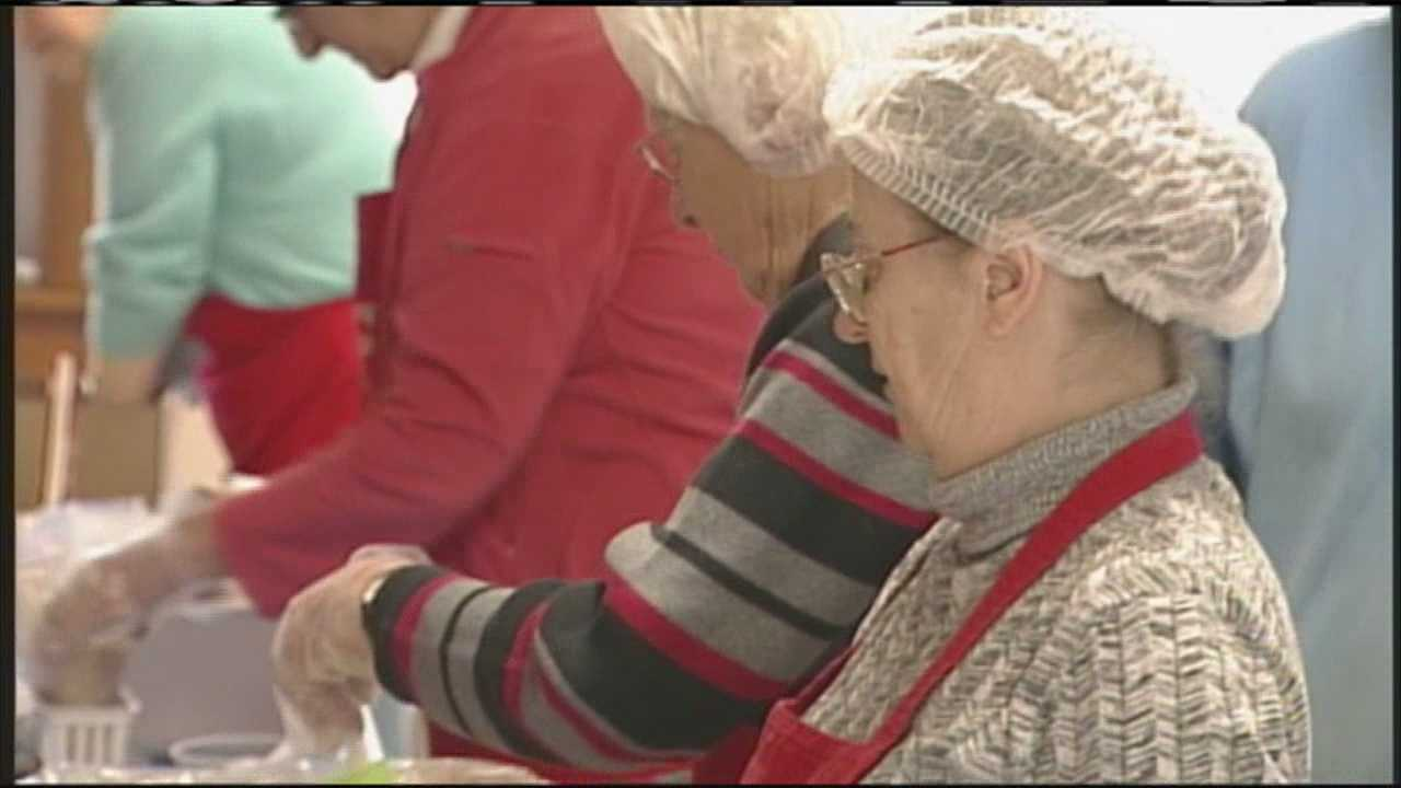 "Saturday's ""Change Hunger"" event broke the state record for meals packed in one day."