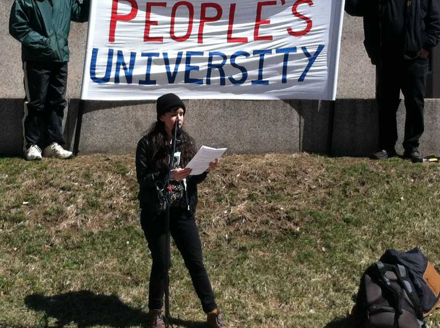 The university says it needs to cut $14 million from its budget, which included faculty and staff layoffs last month.