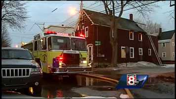 The second fire was reported at 44 Nichols Street at about 3 a.m.