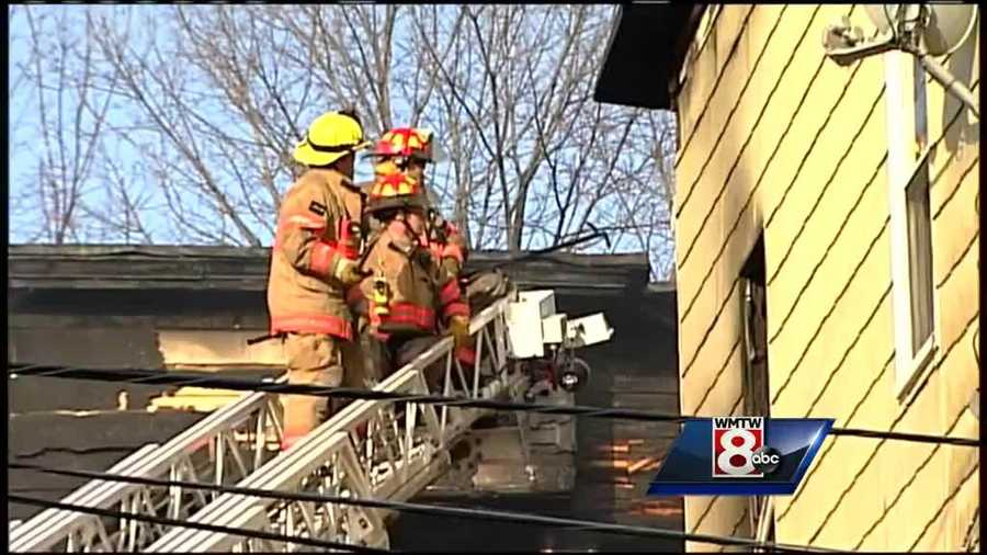 During a news conference at 4 p.m. investigators said all four fires were arson.