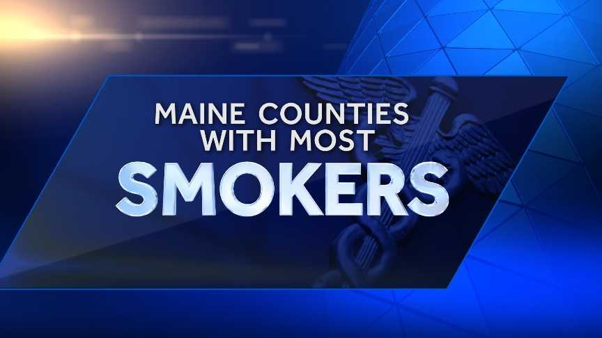 "County Health Rankings and Roadmaps has released its health rankings of Maine's counties. Click through to see which Maine counties have the highest rate of adult smokers.  The report looked the percent of the adult population that currently smokes every day or ""most days"" and has smoked at least 100 cigarettes in their lifetime."