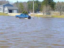 Flooding in Canton