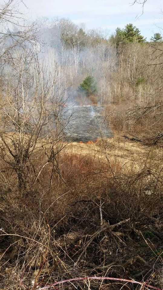 Winslow Brush Fire