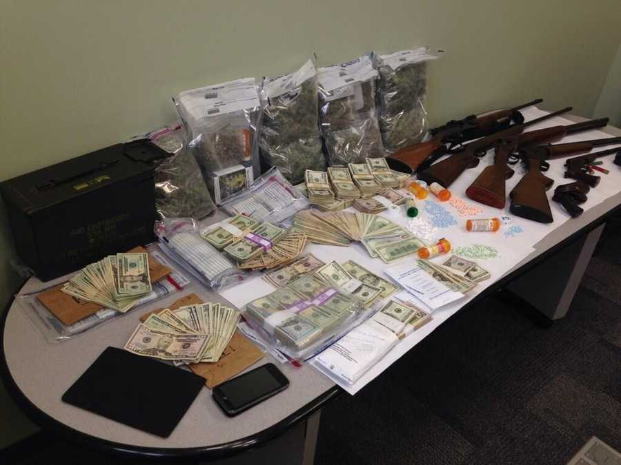 The Franklin County Sheriff's Department said it made a major drug bust at a home in Avon last week.