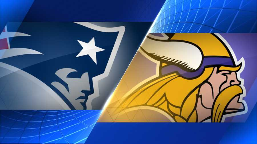 Week 2 - New England Patriots at Minnesota Vikings - Sept. 14, 1 p.m. CBS