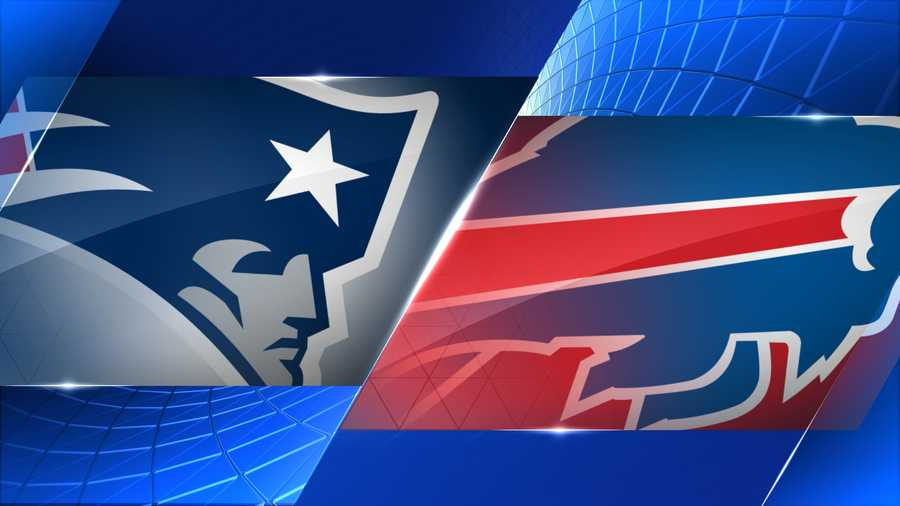 Week 6 - New England Patriots at Buffalo Bills - Oct. 12, 1 p.m.  CBS