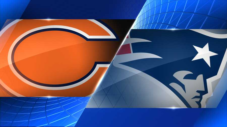 Week 8 - Chicago Bears at New England Patriots - Oct. 26, 1 p.m.  FOX