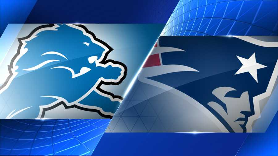 Week 12 - Detroit Lions at New England Patriots - Nov. 23, 1 p.m.  FOX