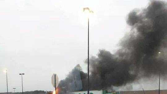 Waterville Tractor-Trailer Fire