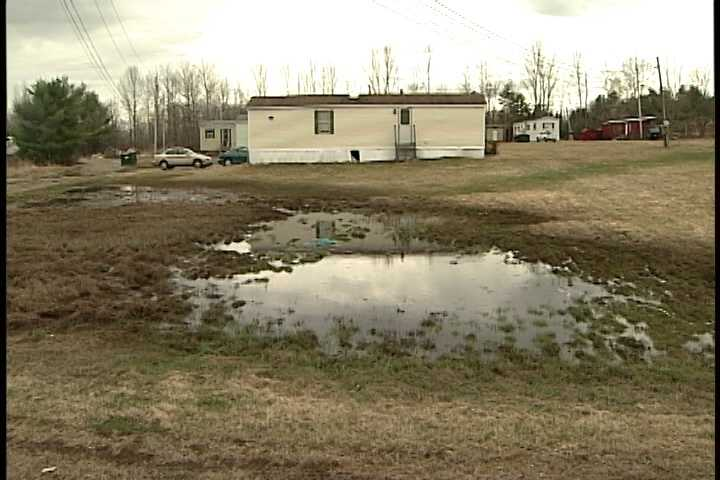 The head of the mobile home park's tenant association said it should cost about $1,500 to repair the major water leak and replace the sewer pump, and the tenants are coming together to pay.