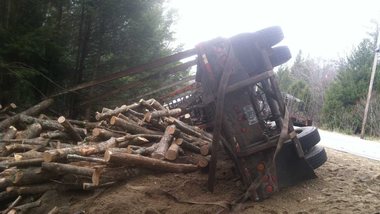 Logging Truck Accident