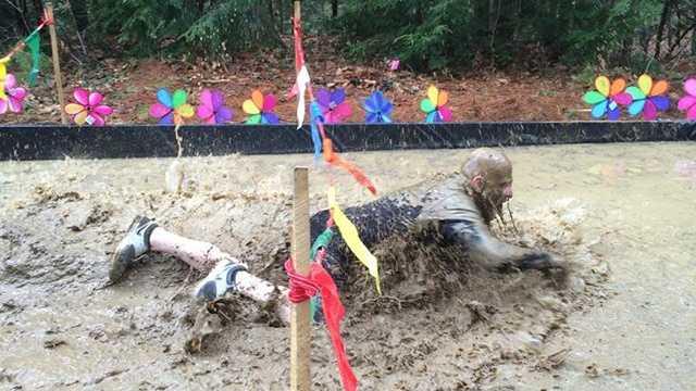 University of Southern Maine students organize muddy challenge