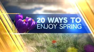 Each day on WMTW News 8 This Morning, Norm Karkos will give a tip on how to enjoy spring. This slideshow will be updated.