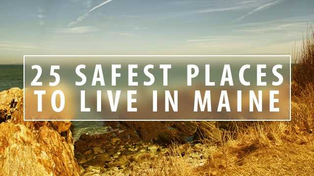 The website Safessentials.com recently released a list of the safest places in Maine to live. The website looked at crime data and its own internal research. Click through to look at the top 25.