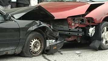 Several businesses also donated services and the vehicles to make the accident look as real as possible.