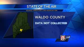 No data was collected for Waldo County