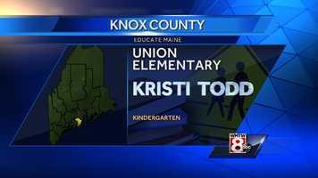 Kristi Todd teaches kindergarten at Union Elementary school in Union