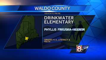 Phyllis Frkuska-Heeren teaches literacy and math for grades K-5 at Drinkwater Elementary in Northport.