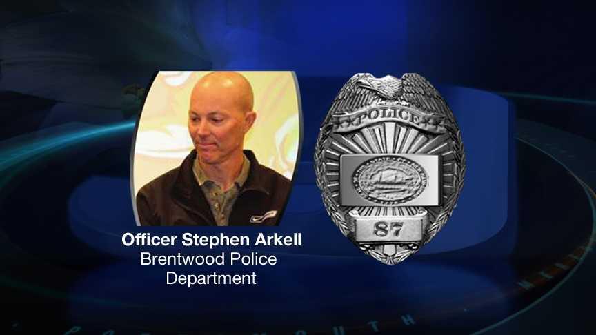 Officer Stephen Arkell graph