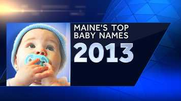 The Social Security Administration has released the top baby names of 2013. Check out the most popular names here in Maine for girls and boys.