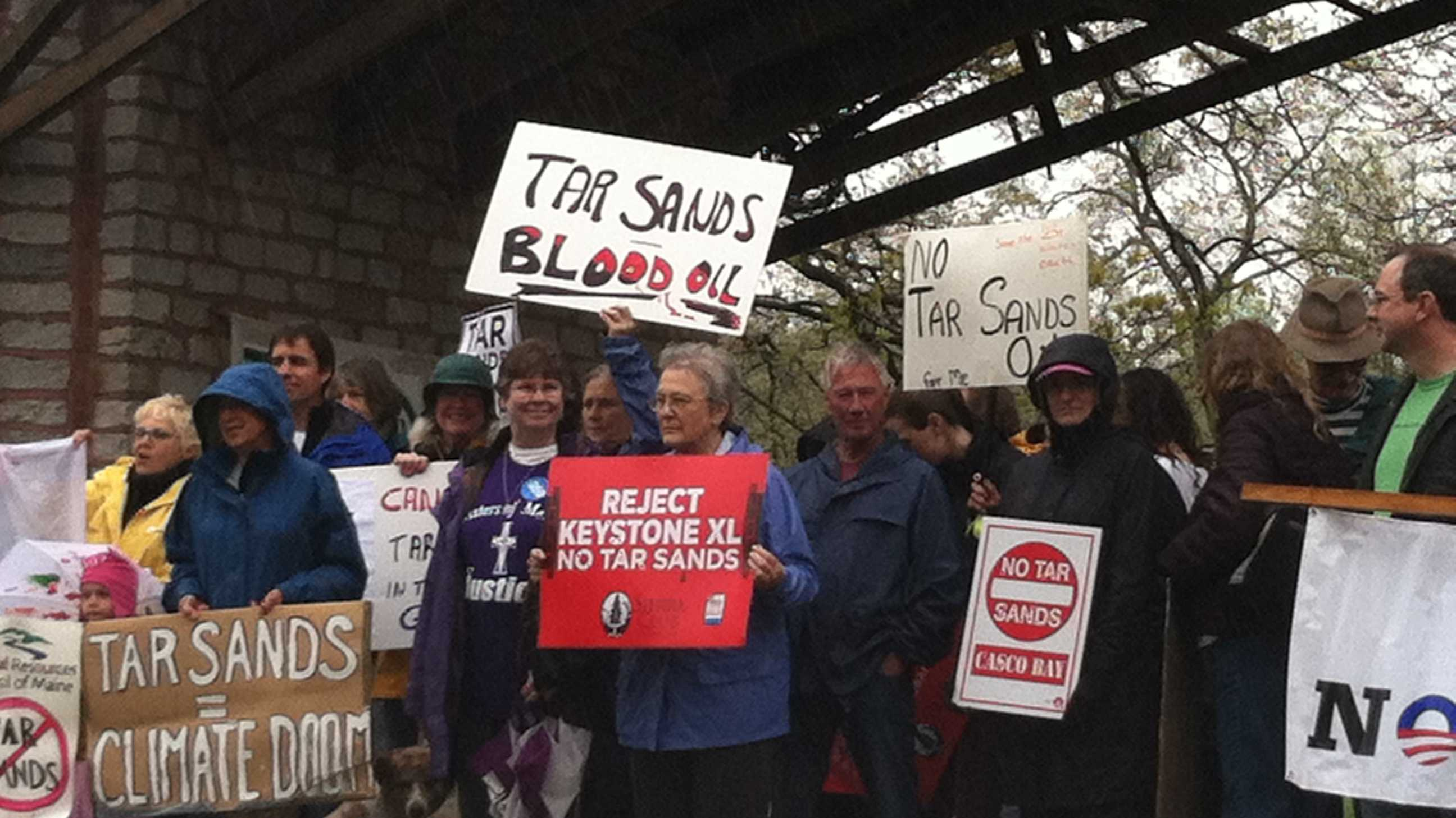 Portland tar sands protest