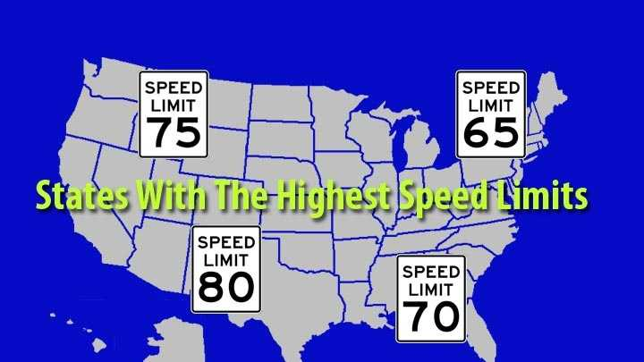 The Maine Department of Transportation announced it is increasing the speed limit on parts of Interstate 295. The highest speed limit in Maine is 75 mph on I-95 north of Old Town.The following are the maximum allowed speed limits on rural and urban interstates by-state, according to the Insurance Institute for Highway Safety.