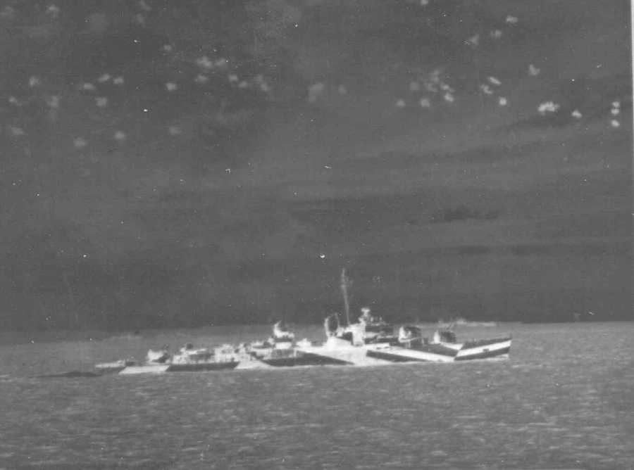"According to the book, ""The ships spent the first hours of the invasion providing the defensive screen against German attacks on the invasion fleet with aircraft, submarines and E-boats."