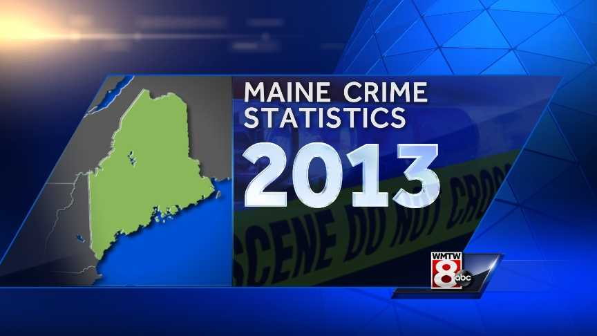 The Maine Department of Public Safety says the state saw its largest drop in crime in 20 years during 2013. Click through to see a breakdown of the crime numbers from last year.