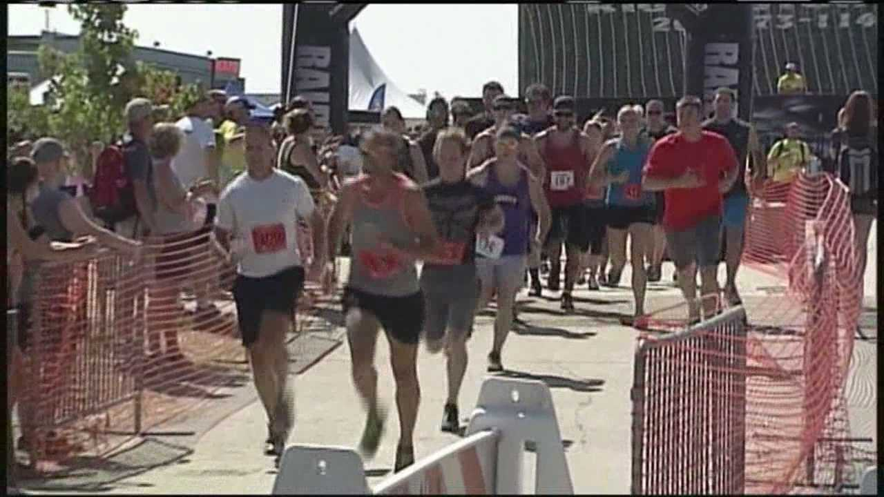 Athletes run, conquer obstacles to benefit children