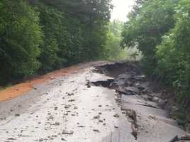 Hall Hill Road in Rumford