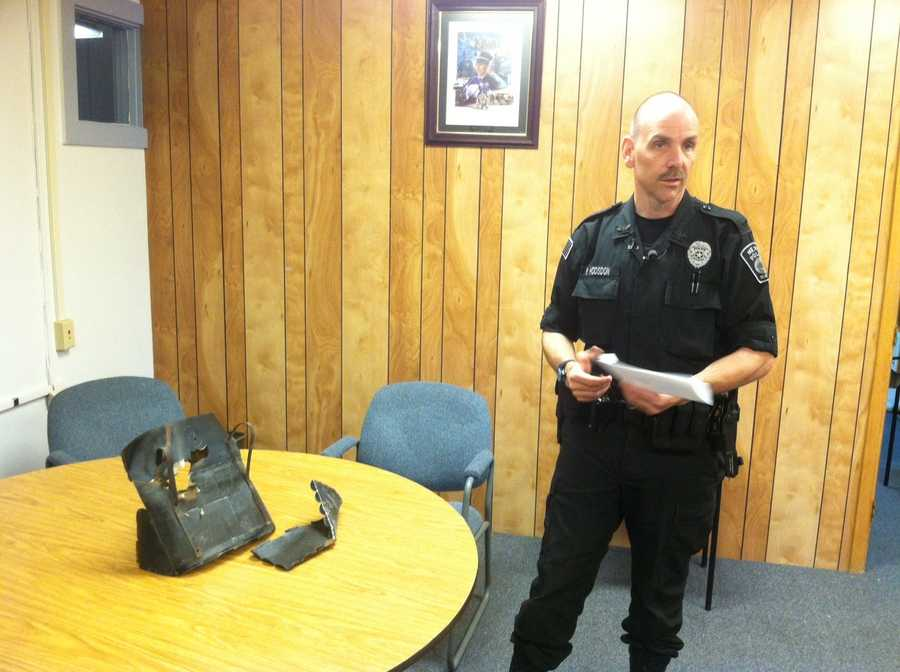 Chief Roy Hodsdon told WMTW News 8 that the incident appears to be an isolated one without any evidence of bias.