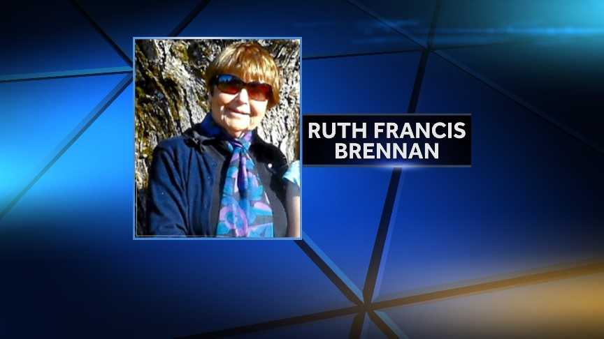 Officials say 77-year-old Ruth Brennan, who has been missing since Monday, has been found alive. Click through to see photos from the search effort.