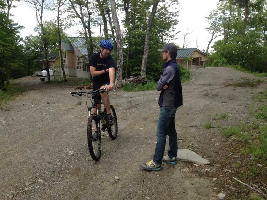 Pete Smith, the president of the local mountain bike club, wants to create a one-of-a-kind mountain bike adventure.