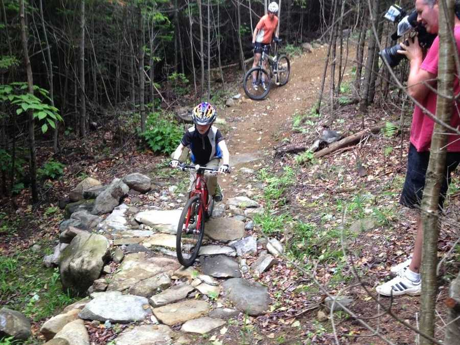 Because of Sugarloaf, the area is already a major winter time destination. Maine Huts and Trails executive director Charlie Woodworth and others believe the mountain biking trails can do the same during the summer.
