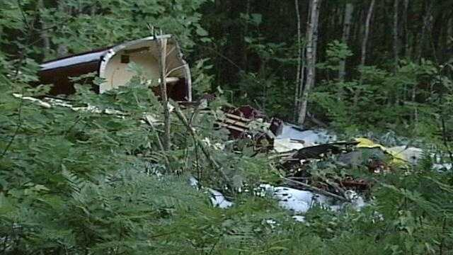 A Gray man was killed in a plane crash at the airport Limington on Saturday. Check out photos from the scene.