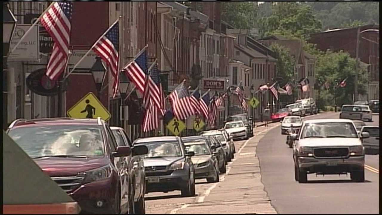 Downtown Hallowell