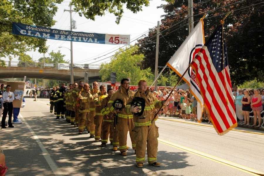 The Clam Festival used to be the Firemen's Field Day and the Firefighter's Muster and is a well-preserved tradition attracting firefighters and spectators from all over Maine and New England.