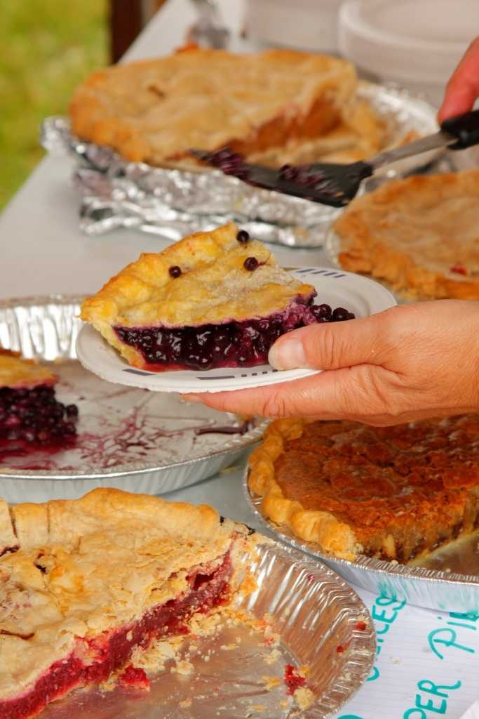 More than 400 homemade pies will be consumed
