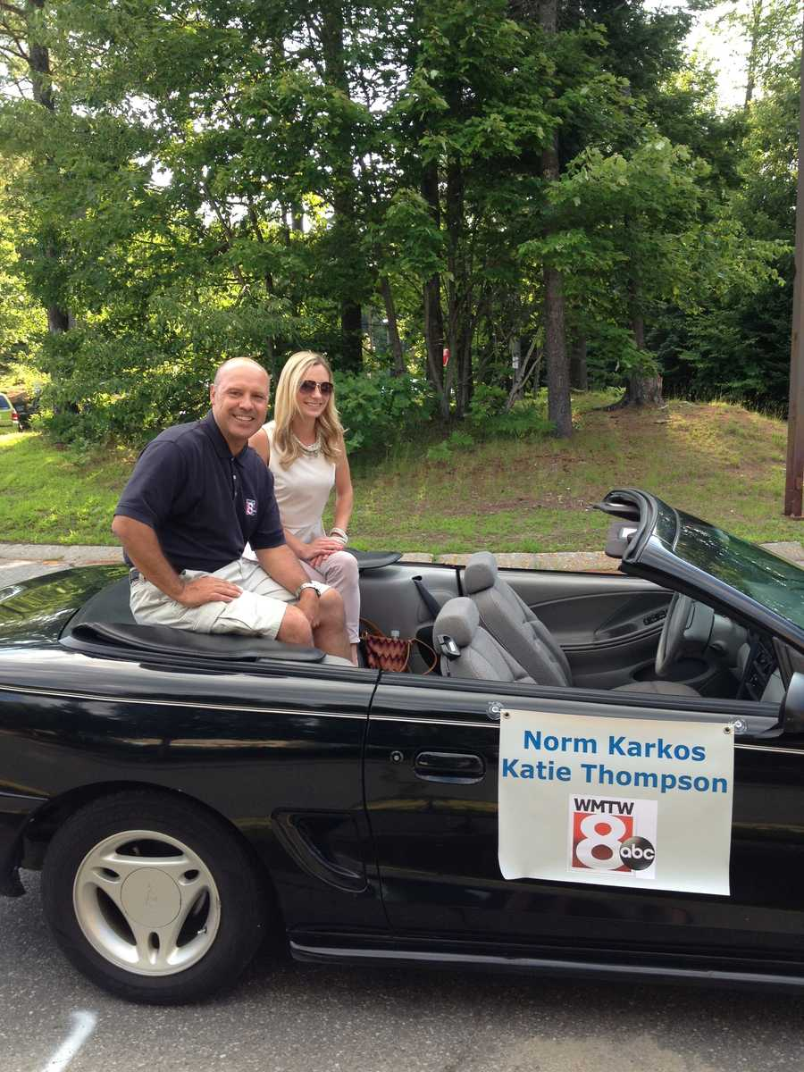Part of your News 8 Morning Team in the parade for the 49th annual Yarmouth Clam Festival!