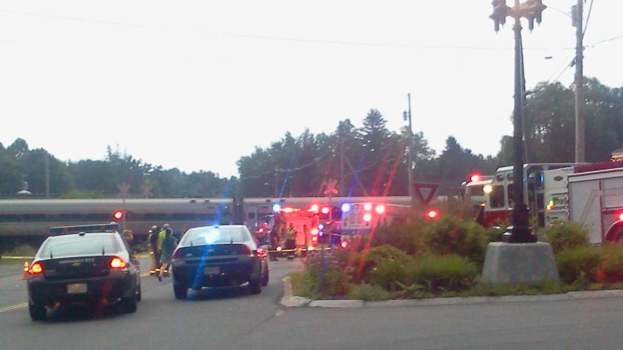 North Berwick Amtrak Accident