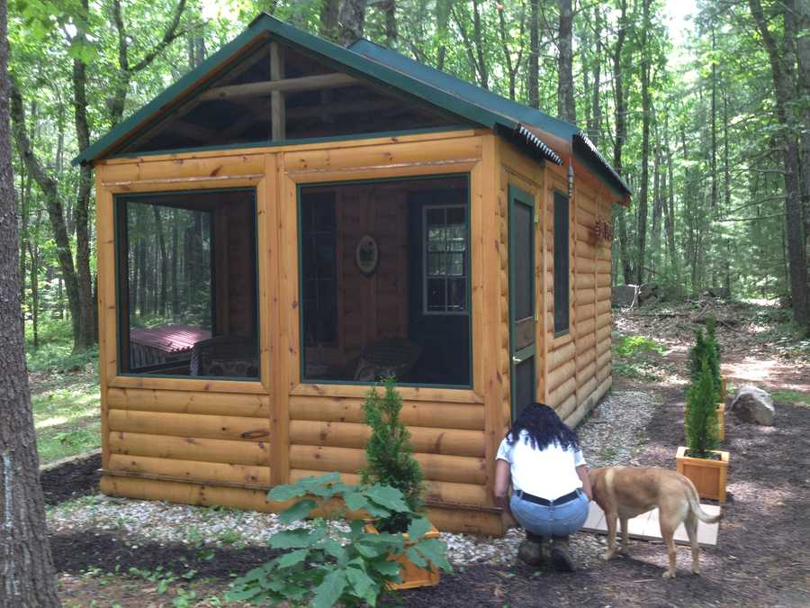 Diebolt said basic cabins start at $10,000 and go up in price from there.
