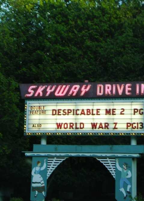 1. Skyway Drive-In Theatre, Fish Creek, Wisconsin