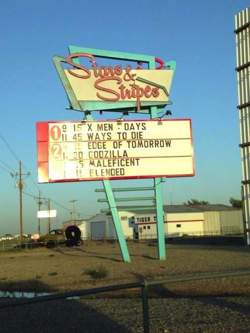 3. Stars & Stripes Drive-In Theatre, Lubbock, Texas