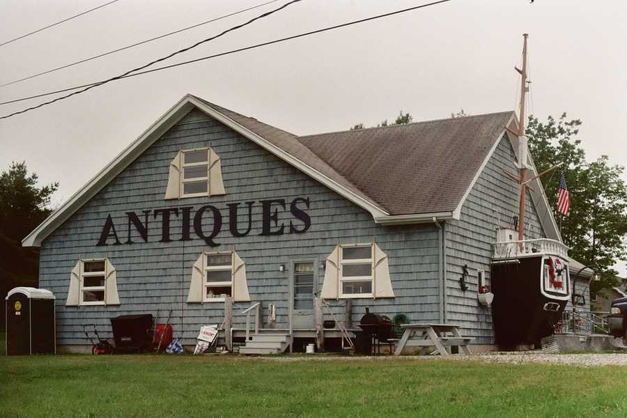 Go antique shopping in one of Maine's many small towns