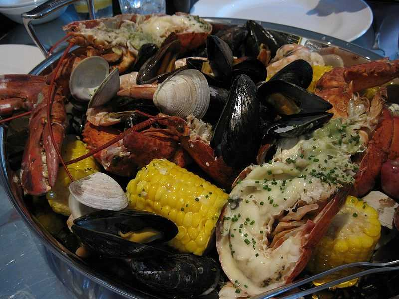 Attend a clam bake