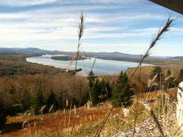 Go leaf peeping at the Height of Land near Rangeley