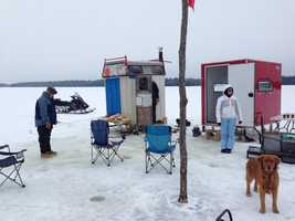 Try ice fishing