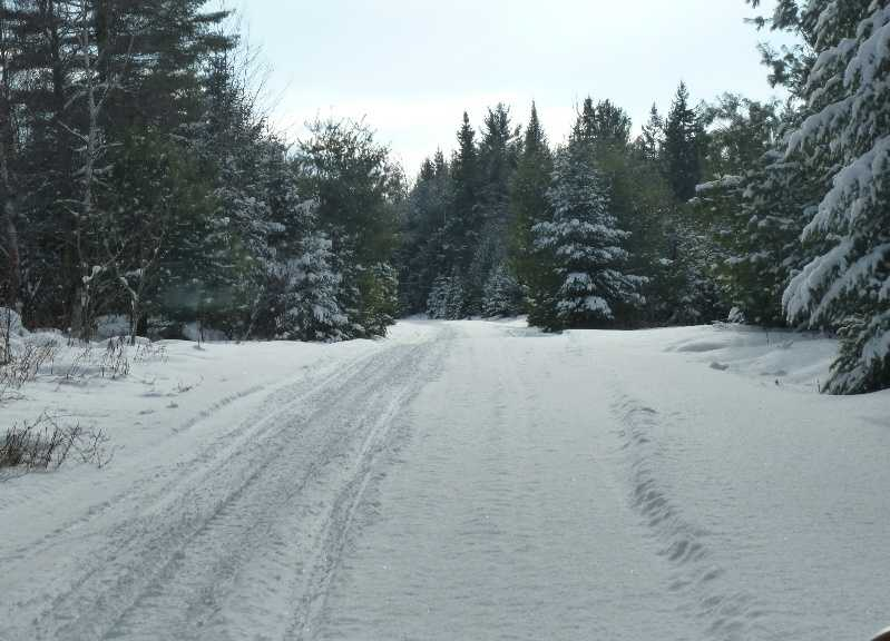 Snowmobile from Kittery to Fort Kent on the Maine ITS snowmobile trail system