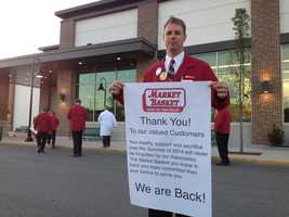 On Wednesday August 27 a deal was reached to sell Market Basket to Arthur T. Demoulas, ending the battle over the company's future.